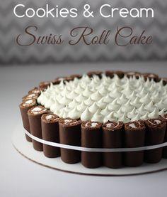 Rodillo suizo galletas y pastel de crema Receta: Receta # FamilyDollarMore4Less reto Sorteo - Hacks homemaking