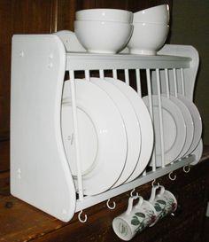 43 best dish racks images plate racks dish racks cottage rh pinterest com