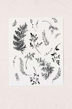 Shannon Kirsten Ferns Art Print