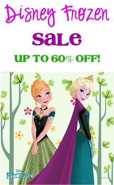 Disney Frozen Elsa and Anna Clothes and Toys Sale: up to 60% off!