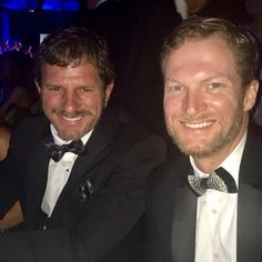 Kerry and Dale Earnhardt Jr.