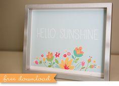 Cute Spring Printable!