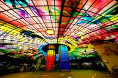 Taiwan,Kaohsiung  Formosa Boulevard Station  -The Dome of Light
