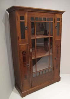Shop Of The Crafters china cabinet - an amazing piece - I remember back in the… Baby Furniture Sets, Furniture Direct, Vintage Furniture, Craftsman Style Furniture, Mission Style Furniture, Arts And Crafts Furniture, Furniture Decor, Furniture Making, Armoire
