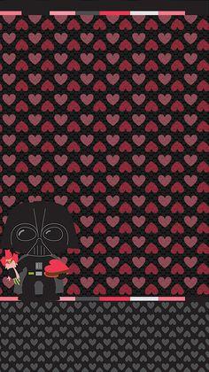 Darth Vader Valentine Wallpaper