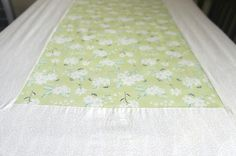 Crib Sheet // Ivory & Fresh Melon Floral w/ contrast Creme paneling // Nursery // Toddler's Room //Gender Neutral // Statement Bedding by MininovaBrand on Etsy https://www.etsy.com/listing/252080085/crib-sheet-ivory-fresh-melon-floral-w