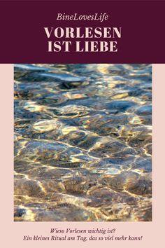 Vorlesen gehört bei uns dazu - warum es wichtig ist, erfährst Du hier German, Great Books, Books For Kids, Mom And Dad, Reading Books, Family Life, Parents, Things To Do, Deutsch