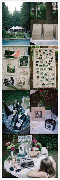 i like this to display photos of the bride and groom