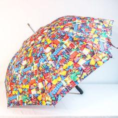 Lego Photo Umbrella  Unique Gift Colorful by JenHanlonAshPhoto