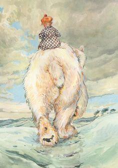 Claire Fletcher Bear behind