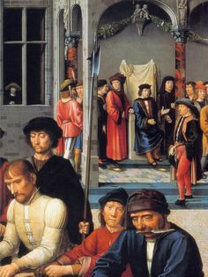 О методах борьбы с коррупцией в 15 веке и стародавние времена. Gérard David,часть 2. А также жестокий Аполлон, несчастный Матиас и великомученик Варфоломей. Аполлон.…