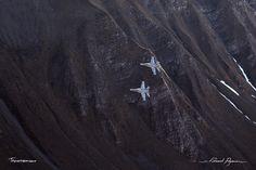 McDonnell Douglas - Boeing F-A-18C Hornet: http://tazintosh.com #FocusedOn #Photo #Axalp #Canon EF 100-400mm f/4.5-5.6L IS USM #Canon EOS 5D Mark II #McDonnell Douglas - Boeing F/A-18C Hornet