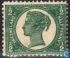 1897 Queensland - Queen Victoria