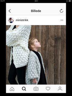 Occasionally it happens that a kid's garment turn out so stylish that you can't help wanting it in an adult version too. My Size, Merino Wool Blanket, Crochet Hats, Knitting, Bobler, Kids, Baby, Collection, Mom