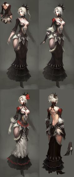 Princess, Level Up Concept from Atlantica Online