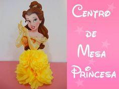 Centro de Mesa de Princesa (Princess Centerpiece) - YouTube                                                                                                                                                                                 Más