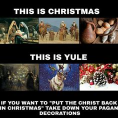 Keep the Pagan in Yule