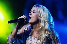 Carrie Underwood is the reason I listen to country music. She is a beautiful human being.