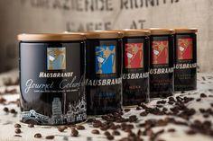 Caffè macinato Hausbrandt 100% Arabica - 100% Arabica roasted ground coffee