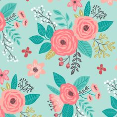 Pink Flowers Fabric – Vintage Inspired Antique Floral Flowers On Light Pink By Caja Design – Vintage Flowers Fabric With Spoonflower - Ideas Flowers Vintage Flowers, Floral Flowers, Cactus Flower, Flowers Garden, Exotic Flowers, Vintage Pink, Purple Flowers, Floral Fabric, Fabric Flowers