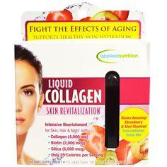 Irwin Naturals, Liquid Collagen, Skin Revitalization, Strawberry