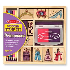 Melissa and Doug : Princess Stamp Set