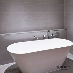 The Elegance tile in matt grey is a high quality porcelain tile suitable for a wide range of applications and is one of our most popular ranges. #porcelaintile #tiles #grouttiles #homedecor #homestyle #homedecoration #homeinspiration
