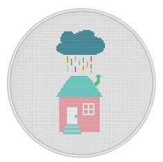 Home sweet home cross stitch pattern counted by MagicCrossStitch