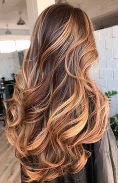 beautiful long hair. ombre.