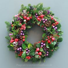 fruits-of-the-forest-magical-christmas-wreaths