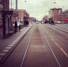 Amsterdam tram! via brightbazaar.blogspot.com