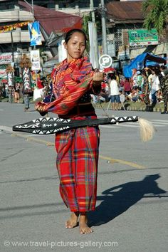 Tboli traditional dress in Philippines