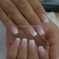 Pink and white ombre - Yelp