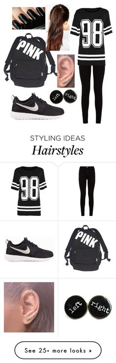 """""""Untitled #204"""" by sfcisalive on Polyvore featuring 7 For All Mankind, NIKE, Victoria's Secret, Annoushka and ASOS"""