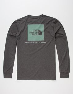 THE NORTH FACE Red Box Mens T-Shirt        276669595 | L/S & Baseball Tees