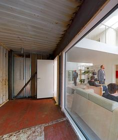 3 Shipping containers & many eco-minded choices WFH House by Mads Møller, via Behance