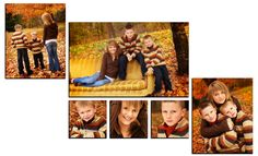Canvas Cluster 7: 2 20x16s,  1 20x32 and 3 10x10s  Overall Wall Space 66x40  with 1'' between canvases