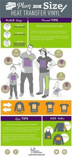 T-shirt design layouts and sizing