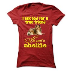 The God sent a Sheltie T Shirts, Hoodie