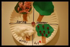 Image detail for -four seasons of an apple tree