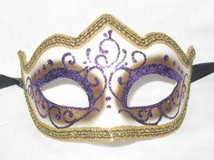 Venetian Masquerade Masks, Blue Yellow, Purple, Bird Costume, Carnival Masks, Mask Making, Blue Bird, Mardi Gras, Light Blue