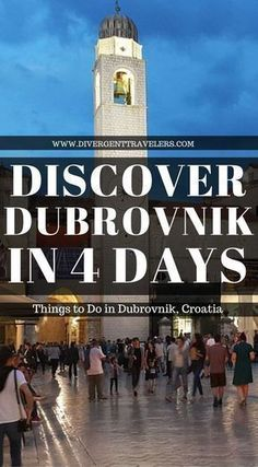 4 Day Dubrovnik Guide – Things to do in Dubrovnik, Croatia. It's not hard to see why Dubrovnik's popularity has skyrocketed. With its dazzling views over the Adriatic sea, an old town that you'll want to get lost in, and plenty of delicious food and wine, Dubrovnik has absolutely earned its nickname, the Pearl of the Adriatic. Click to read more. #Dubrovnik #Guide #Croatia #Travel