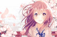 Shouko Nishimiya a Silent Voice Anime Girl Wallpaper Art Anime Fille, Anime Art Girl, Manga Art, Manga Anime, Anime Girls, Kawaii Anime, Kawaii Girl, Koe No Katachi Anime, Female Characters
