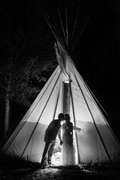 Jackson Hole Wedding | Jackson Hole Wedding Photographer | Teepee