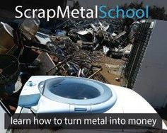 How To Make Money Selling Scrap Metal - ReCraigslist Work From Home Jobs, Make Money From Home, How To Make Money, Scrap Recycling, Scrap Gold, Metal Prices, Metal Detecting, Trash To Treasure, Lone Wolf