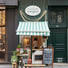 Cafe Shop Design, Cafe Interior Design, Bakery Design, Store Design, Coffee Cafe Interior, Cafe Restaurant, Restaurant Design, Mini Cafeteria, Small Coffee Shop