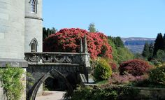 Inveraray Castle main entrance, Inveraray, Argyll, Scotland, UK