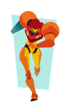 Nuestra querida Samus. Our loved Samus.