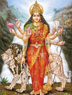 This article contains Sloka on Goddess Durga (Devi). Read more about Shlokas / Prayer to Ma Durga. Shiva Shakti, Durga Kali, Lord Durga, Shiva Hindu, Durga Puja, Lord Shiva, Durga Images, Lakshmi Images, Vaishno Devi