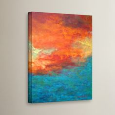 Found it at Wayfair.ca - 'Lake Reflections II' Painting Print on Wrapped Canvas